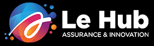 Logo Le Hub assurance - innovation